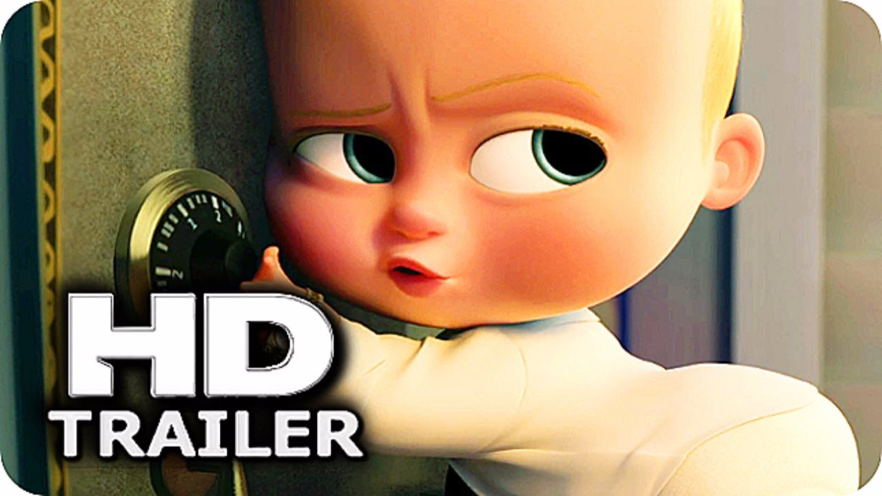 THE BOSS BABY Trailer (2017) Alec Baldwin Animation Movie ...