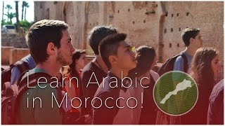 Learn Arabic in Morocco!