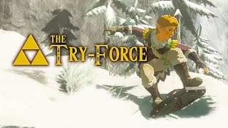 Steep Slope Shredders in Zelda Breath Of The Wild - The Try-Force