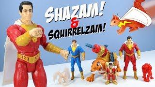 Shazam! Toys Action Figures and Thunder Punch Shazam Mattel