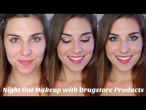 Girls Night Out Drugstore Makeup Tutorial | Bailey B.