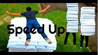 Speed Up |  2 Guys 600 Pillows (Backwards) - Rhett & Link