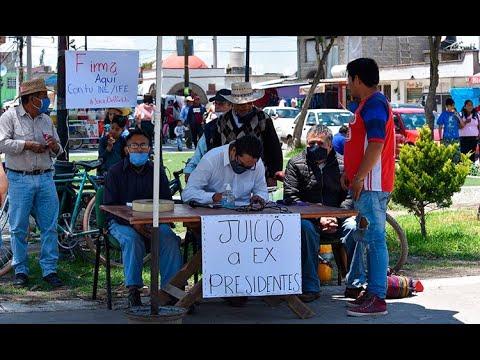El juicio a los expresidentes y la división de la sociedad mexicana