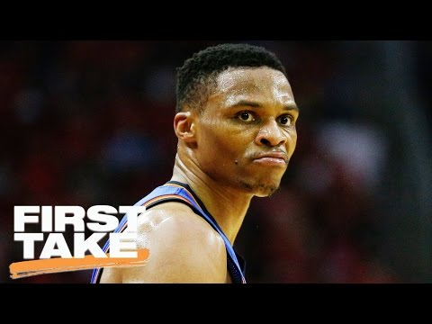 Stephen A. Smith Says Westbrook's OKC Comments Weren't Wise   First Take   April 27, 2017