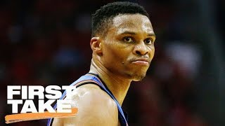 Stephen A. Smith Says Westbrook's OKC Comments Weren't Wise | First Take | April 27, 2017