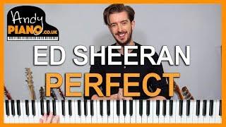ED SHEERAN - PERFECT // EASY Piano Tutorial