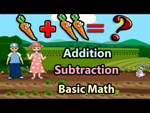 Basic Math For Kids: Addition and Subtraction, Science games