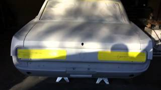 65 Mustang Restoration - Frenched Thunderbird Tail lights Part 2