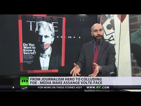Assange media downfall: From journalist to