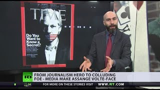Assange media downfall: From journalist to 'useful idiot'