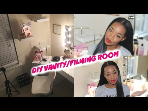 DIY Vanity/Filming Tour: Small Space Edition💕