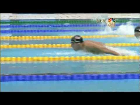 Michael Phelps' 4th Gold - 2008 Beijing Olympics Men's 200m Butterfly