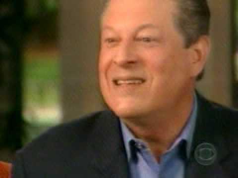 Lesley Stahl interviews Al Gore On 60 Minutes 3/30/08 Pt.1