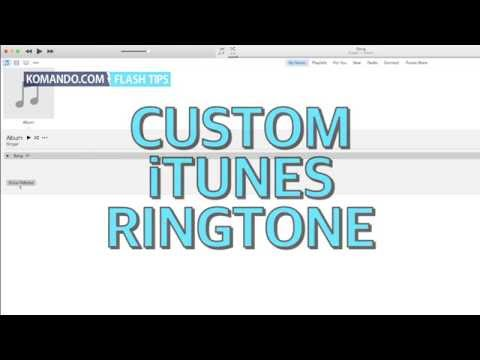 Custom iTunes Ringtone