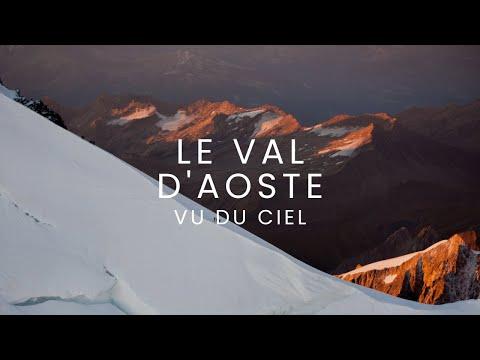 Le Val d'Aoste vu du ciel