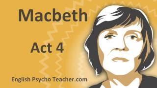 Macbeth Act 4 Summary with Key Quotes & English Subtitles