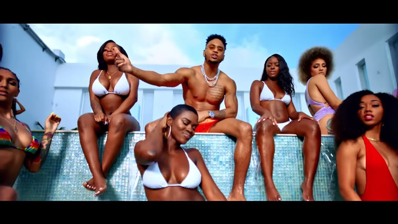 Music videos with girls in bikinis Trey Songz Chi Chi Feat Chris Brown Official Music Video Youtube