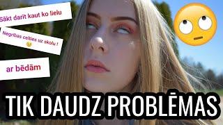 RUNĀJU PAR PROBLĒMĀM?! | tikaialina