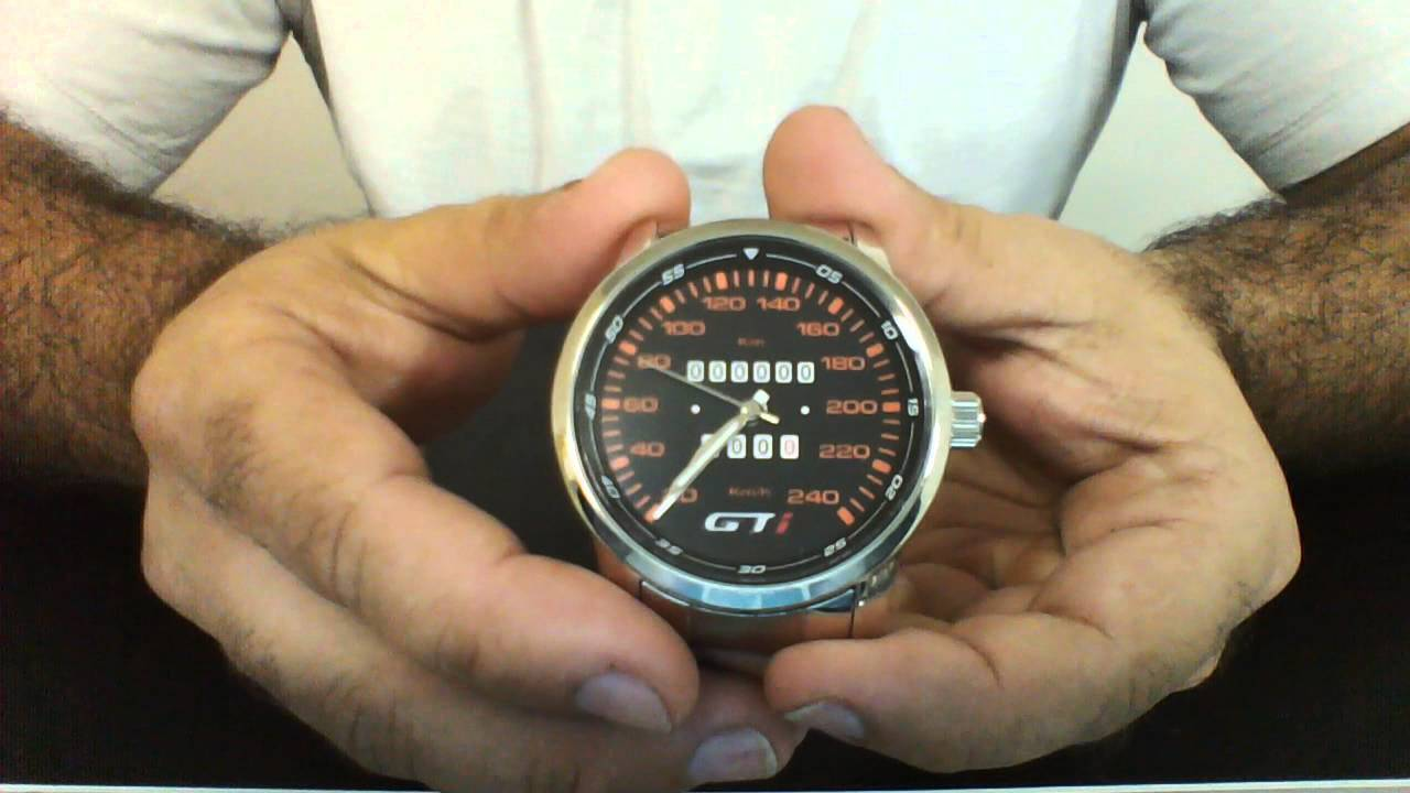 3006836ffa6 Relógio personalizado painel gol gti 5702gb - YouTube