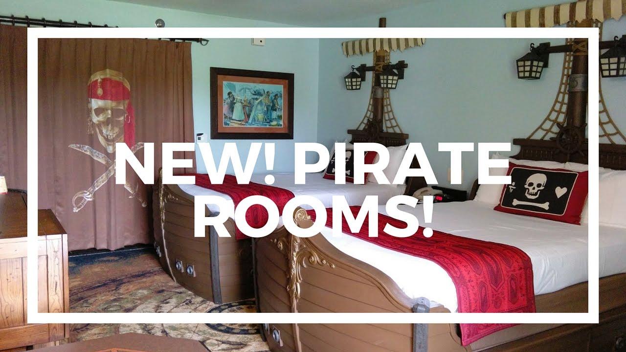 Pirate Rooms At Disney S Caribbean Beach Resort