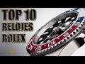 TOP 10 | RELOJES ROLEX ?