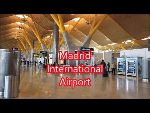 Madrid  Spain International Airport. Aeropuerto Internacional De Madrid España. Spain Travel Guide.