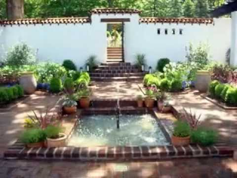 Courtyard landscaping design ideas youtube for Courtyard landscaping ideas