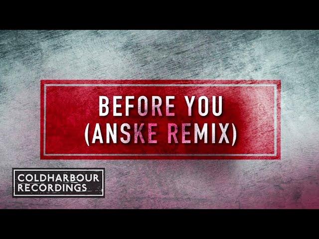 Leon Somov & Justinas Jarutis - Before You (Anske Remix)