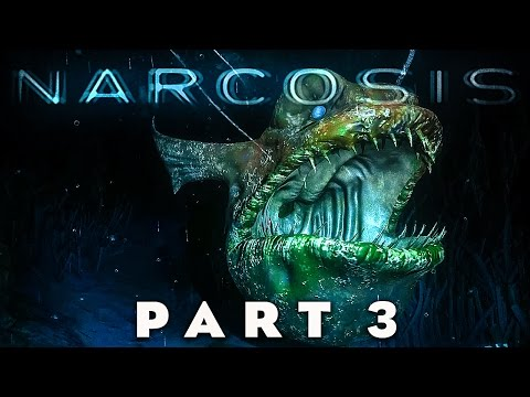 NARCOSIS - The Terror's for the Deep Sea!! (Narcosis Gameplay Walkthrough Part 3)