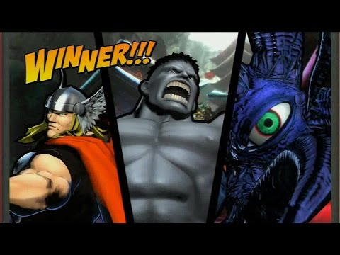 Requested Ultimate Marvel vs. Capcom 3: Hammers and Eyes |
