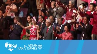 Opening Ceremony Movement 1. Stretching The Boundaries | 8th Asean Para Games Singapore 2015