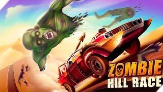 ДАВИМ МНОГО ЗОМБИ - Hill Zombie Racing - Earn To Climb