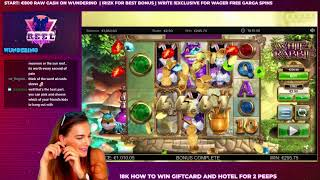 LIVE CASINO SLOTS - ReelRaiders playing real money online slots live