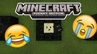 Эмодзи в Minecraft Pe 1.0 -  (Без Модов)