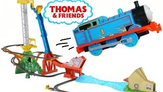 THE GREAT RACE THOMAS SKY HIGH BRIDGE JUMP TRACKMASTER TRAINS ENGINES PLAYSET THE SHOOTING STAR TOY