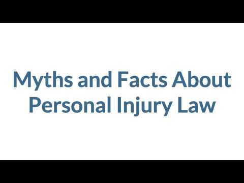 Myths and Facts About Personal Injury Law | Personal Injury Lawyers Ottawa