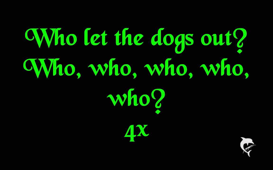 Baha Men - Who Let The Dogs Out (Chords) - Ultimate-Guitar.Com