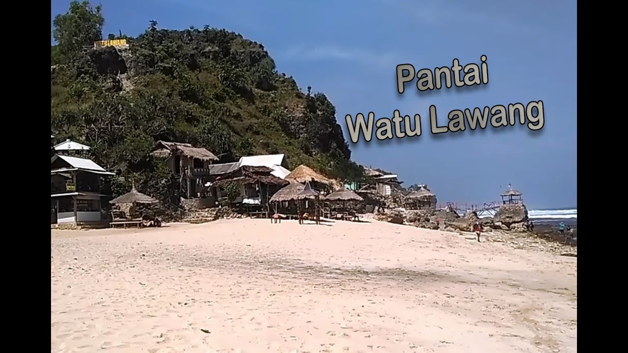 Pantai Watu Lawang Gunung Kidul Yogyakarta Youtube