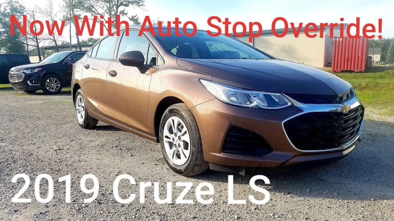 2019 Chevy Cruze Ls Sedan New Oakwood Metallic Full Walk
