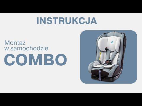 1fe54c266c1 Fotelik Caretero Combo - Montaż w samochodzie - YouTube