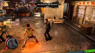Sleeping Dogs: Definitive Edition PS4 Gameplay - Nightmarket Combat