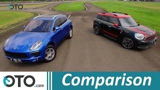Mini JCW Countryman VS Porsche Macan (Part-1) I Comparison | OTO.com