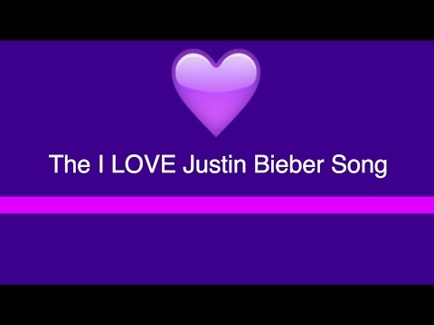 amazing love song I made for Justin Bieber
