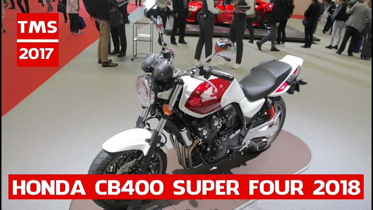 new honda cb400 super four 2018 honda cb400 super four at 2017 rh youtube com Honda CB400F Honda VTX1800