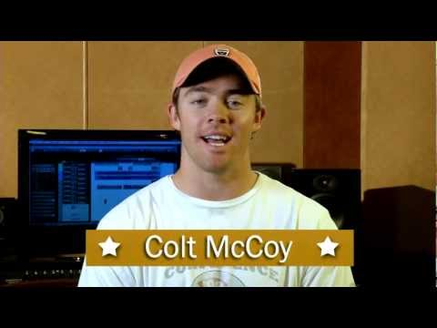 """Colt McCoy for """"Deep in the Heart: Big Songs for Little Texans Everywhere"""""""