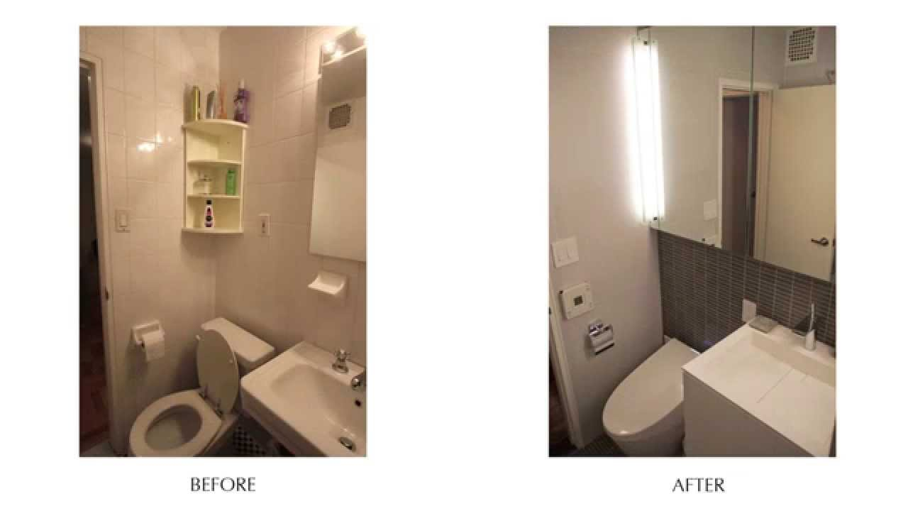 Incredible Modern Bath Renovation Before After E 80th St Nyc