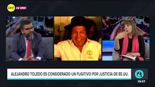 Alejandro Toledo es considerado fugitivo por la justicia de EEUU
