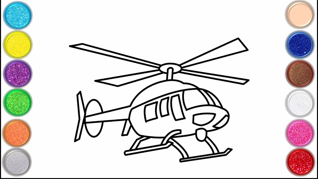 Helicopter Coloring Pages - GetColoringPages.com   720x1280