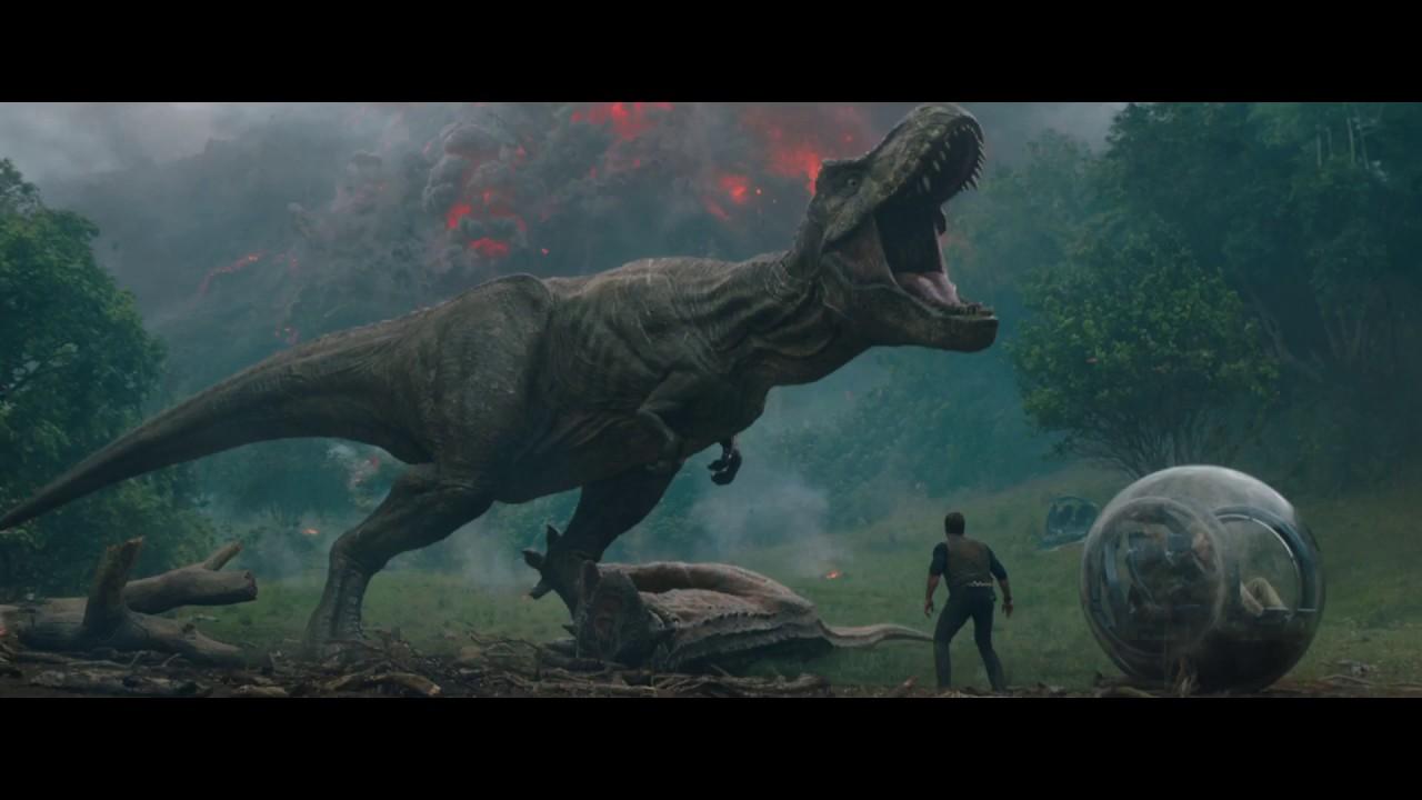 Jurassic world il regno distrutto il nuovo trailer italiano