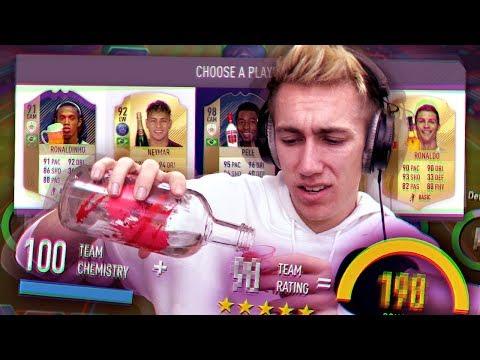 THE DRUNK FIFA 18 DRAFT!